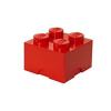 LEGO Tároló doboz 2x2 piros