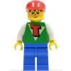 LEGO Time Cruisers - Timmy Kék Lábbal és Piros Sapkával - Használt tim006