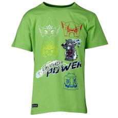 LEGO TRISTAN402-838-140 - LEGO Wear Chima Tristan 402 fiú zöld t-shirt 140-es méretben