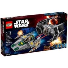 LEGO Vader TIE vadászgépe az A-szárnyú csilla ghajó ellen 75150 lego