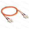 Legrand 033070 patch kábel optika OM2 (UPS) multimódusú SC/SC duplex 50/125um LSZH (LSOH) narancs 2 méter LCS3
