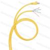 Legrand 051786 konszolidációs patch kábel RJ45-AWG Cat.6A árnyékolt (S/FTP) LSZH (LSOH) sárga 8 méter LCS3