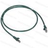Legrand 051850 patch kábel RJ45-RJ45 Cat.6 árnyékolt (F/UTP) LSZH (LSOH) 1 méter zöld d: 6mm AWG26 LCS3