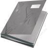 Leitz Aláírókönyv, A4, 18 részes, karton, LEITZ, szürke (E57450085)