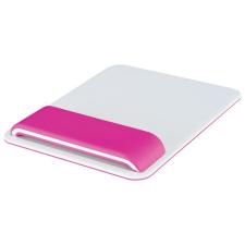 Leitz Egéralátét, csuklótámasszal, állítható, LEITZ  Ergo Wow , rózsaszín asztali számítógép kellék
