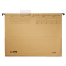 """Leitz Függőmappa, oldalvédelemmel, karton, A4,  """"Alpha"""", natúr mappa"""