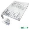 """Leitz Genotherm, lefűzhető, A4, 180 mikron, víztiszta felület, 20 mm, behajtható fül, LEITZ """"Jumbo"""""""