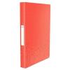 """Leitz Gyűrűs könyv, 2 gyűrű, 26 mm, A4, PP, LEITZ """"Urban Chic"""", piros"""