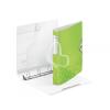 """Leitz Gyűrűs könyv, 4 gyűrű, D alakú, 52 mm, A4, PP, LEITZ """"Active Wow"""" zöld"""
