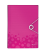 Leitz Harmonika irattartó -45890023- PP wow Pink LEITZ