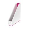 """Leitz Iratpapucs, mûanyag, 73 mm, kettõs színhatású, LEITZ """"Wow"""", rózsaszín"""