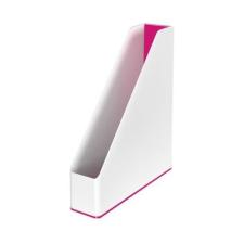 """Leitz Iratpapucs, mûanyag, 73 mm, kettõs színhatású, LEITZ """"Wow"""", rózsaszín irattartó"""