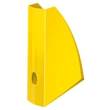 """Leitz Iratpapucs, műanyag, 60 mm, elöl nyitott, LEITZ """"Wow"""", metál sárga irattartó"""