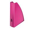 """Leitz Iratpapucs, műanyag, 60 mm, elöl nyitott,  """"Wow"""", metál rózsaszín"""