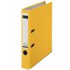"""Leitz Iratrendező, 52 mm, A4, PP/karton, élvédő sínnel,  """"180"""", sárga"""