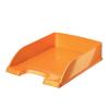 """Leitz Irattálca, műanyag, LEITZ """"Wow"""", metál narancssárga"""