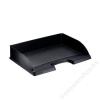 Leitz Irattálca, műanyag, oldalt nyitott, LEITZ Plus, fekete (E52180095)