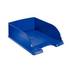 """Leitz Irattálca, műanyag,  """"Plus Jumbo"""", kék irattálca"""