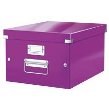 """Leitz Irattároló doboz, A4, LEITZ """"Click&Store"""", lila irattartó"""