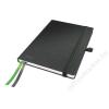 Leitz Jegyzetfüzet, exkluzív, A5, vonalas, 80 lap, keményfedeles, LEITZ Complete, fekete (E44780095)