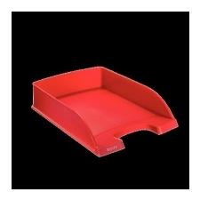 "Leitz ""Plus"" műanyag irattálca, piros irattálca"