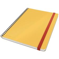 Leitz Spirálfüzet, B5, vonalas, 80 lap, LEITZ,  Cosy Soft Touch , melegsárga füzet