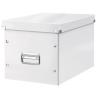 """Leitz Tároló doboz, lakkfényű, L méret, LEITZ """"Click&Store"""", fehér"""