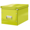 """Leitz Tároló doboz, lakkfényű, L méret, LEITZ """"Click&Store"""", zöld"""