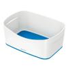 """Leitz Tároló doboz, LEITZ """"MyBox"""", fehér-kék"""