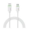 """Leitz Töltő- és adatkábel USB-C - microUSB 2.0, 1m, LEITZ, """"Complete"""", fehér"""