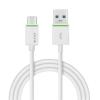 """Leitz Töltő- és adatkábel USB-C - USB-A 3.1, 1 m, LEITZ, """"Complete"""", fehér"""