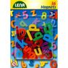 LENA Lena - Mágneses kisbetűk 36 db, 3 cm