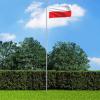 Lengyel zászló alumíniumrúddal 6,2 m