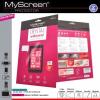 Lenovo A536, Kijelzővédő fólia, MyScreen Protector, Clear Prémium, szennyeződés- és baktériummentes, 1 db / csomag