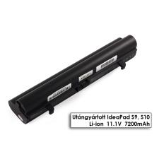 Lenovo IdeaPad S9, S9e, S10, S10e, S12 helyettesítő új 9 cellás fekete akkumulátor (L08C3B21) egyéb notebook akkumulátor