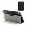 Lenovo IdeaTab A3000, bőrtok, mappa tok, fekete