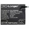 Lenovo K6, Akkumulátor, 3000 mAh, Li-Polymer, BL267 kompatibilis