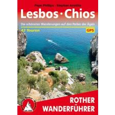 Lesbos - Chios - RO 4410 térkép