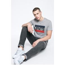 Levi's - T-shirt Mainline Graphic - szürke - 1333695-szürke