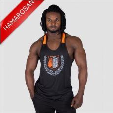 LEXINGTON TANK TOP - BLACK/NEON ORANGE (BLACK/ORANGE) [4XL]