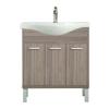 Leziter Nerva 75 cm-es bútorhoz alsószekrény, mosdóval, Rauna szil