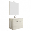 Leziter Zoya 60 fürdőszobabútor kerámia mosdóval fehér tölgy