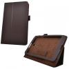 LG G Pad 8.0 V480, bőrtok, mappa tok, barna