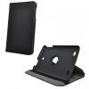 LG G Pad 8.0 V480, bőrtok, mappa tok, elforgatható (360°), fekete