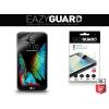 LG K10, Kijelzővédő fólia (az íves részre NEM hajlik rá!), Eazy Guard, Clear Prémium / Matt, ujjlenyomatmentes, 2 db / csomag