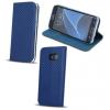 LG K8 (2017), Oldalra nyíló tok, stand, Smart Carbon, kék