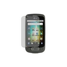 LG P500 Optimus One kijelző védőfólia mobiltelefon előlap