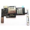 LG P970 Optimus Black sim és memóriakártya olvasós átvezető fólia oldalgomb fóliával*