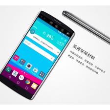 LG V10 H900 hátlap - IMAK Crystal Clear Slim - transparent tok és táska
