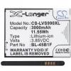 LG V10 / LG Stylus 2, Akkumulátor, 3000 mAh, Li-Ion, BL-45B1F / EAC63118201 kompatibilis